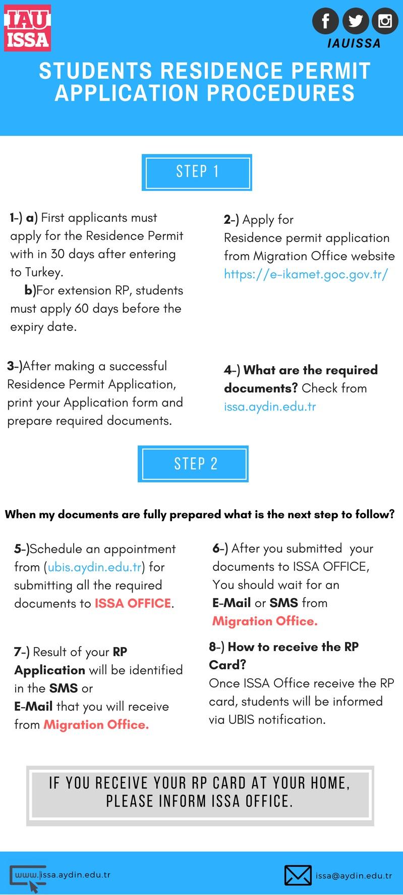 Student Visas & Residence Permits